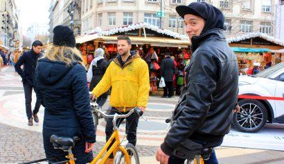 Budapest Winter Tour,Yellow Zebra Budapest,Budapest bike tour guided bike tour